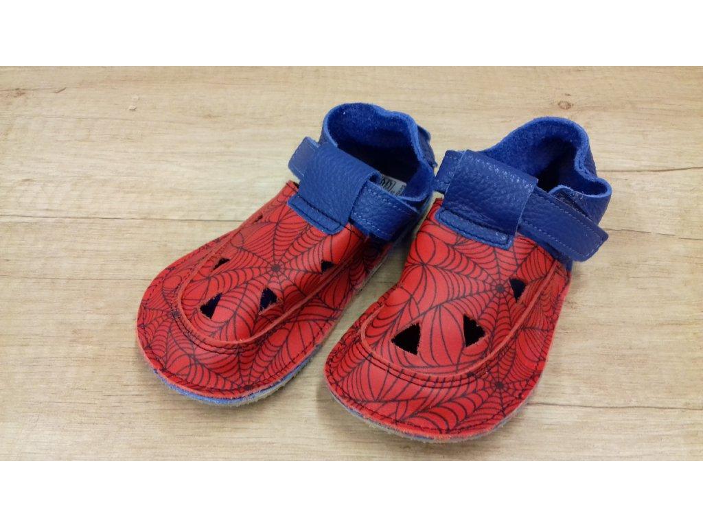 Baby Bare Shoes barefoot sandály/přezůvky Top Stitch Spider