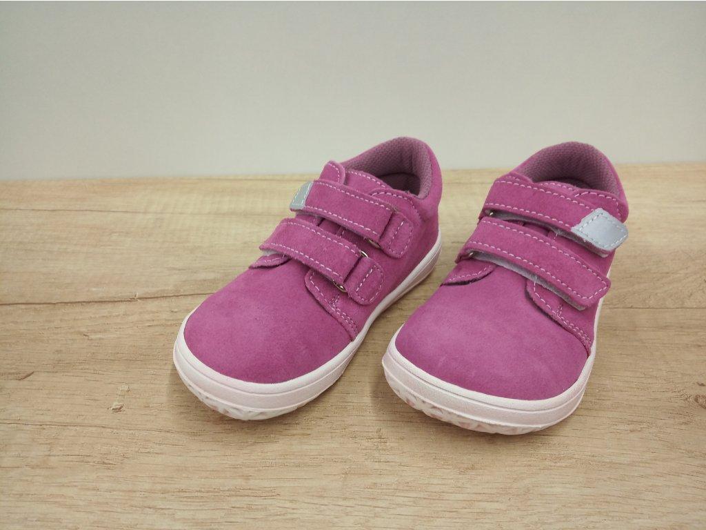 Jonap celoroční barefoot obuv B1/SV růžová