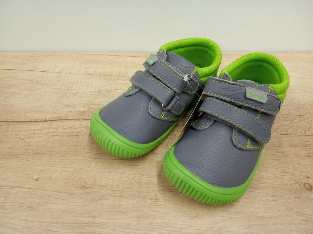 Protetika celoroční barefoot obuv Rony Green