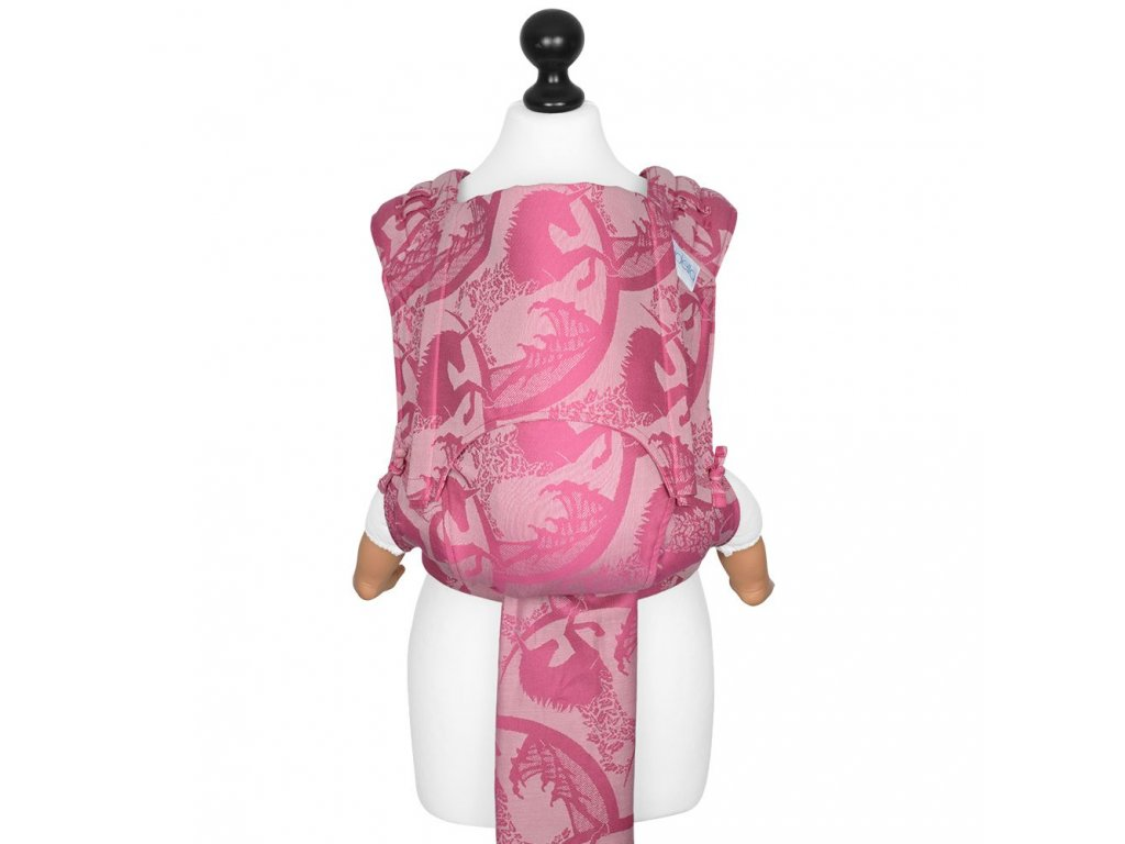 new size fly tai mei tai baby carrier unicorn tale pink rose