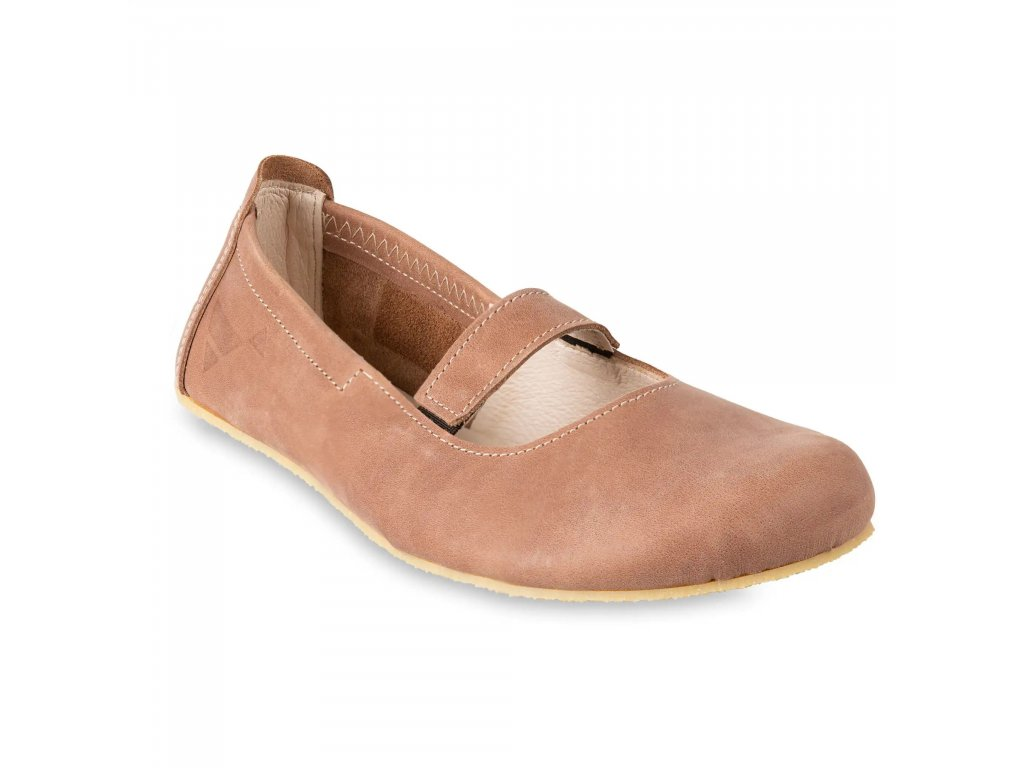 Angles Fashion barefoot baleríny AFRODITA Brown