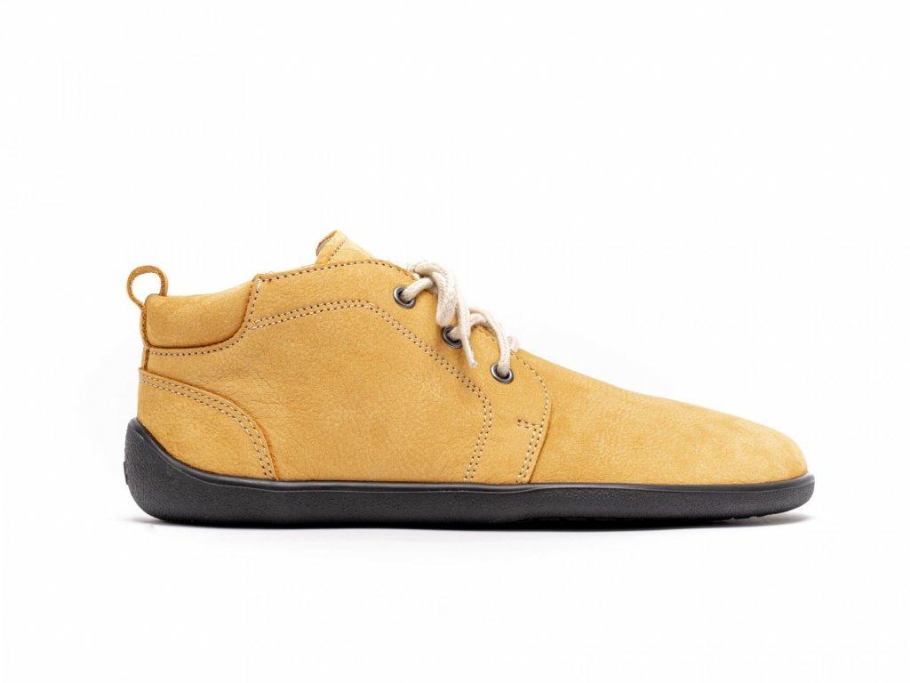 Be Lenka celoroční barefoot obuv Icon Mustard