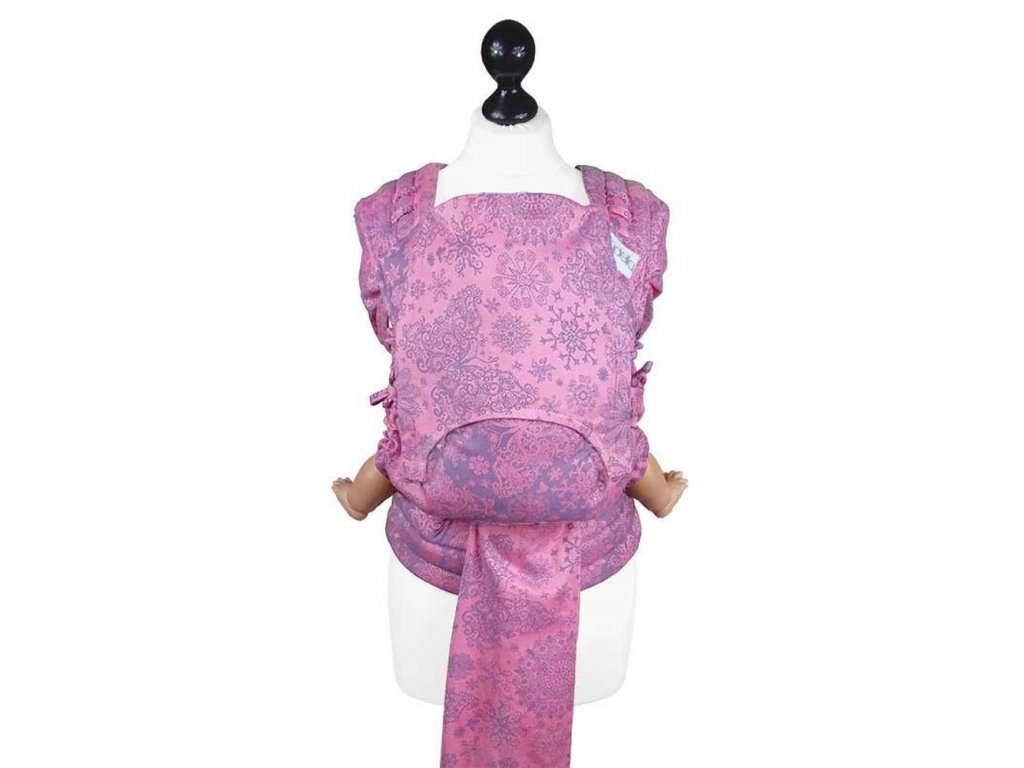 new size fidella fly tai meitai babycarrier iced butterfly violet