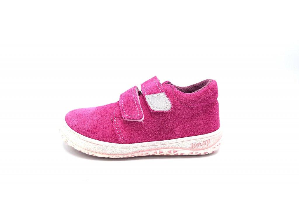 Jonap celoroční barefoot obuv B1/SV SLIM růžová