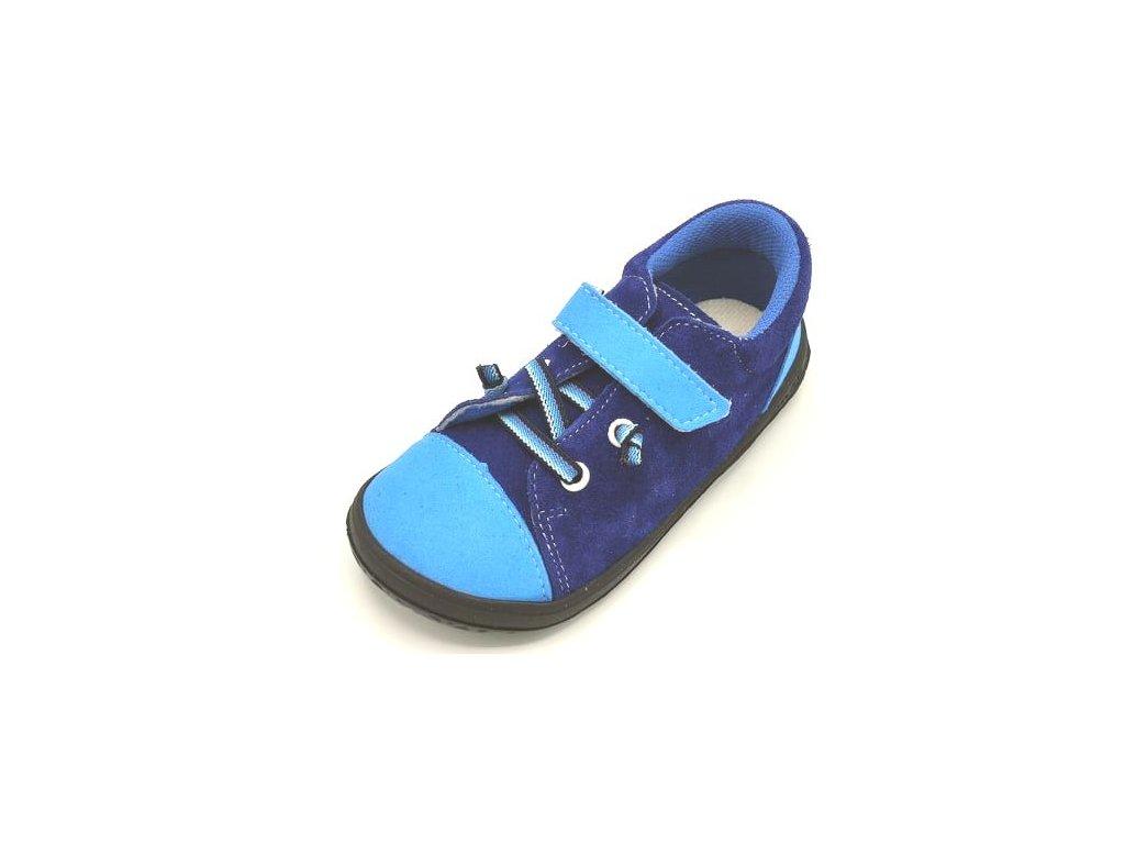 jonap barefoot tenisky b12 sv modrá (2)