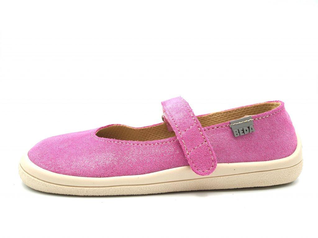 Beda barefoot baleríny Janette 0001 BA K (4)