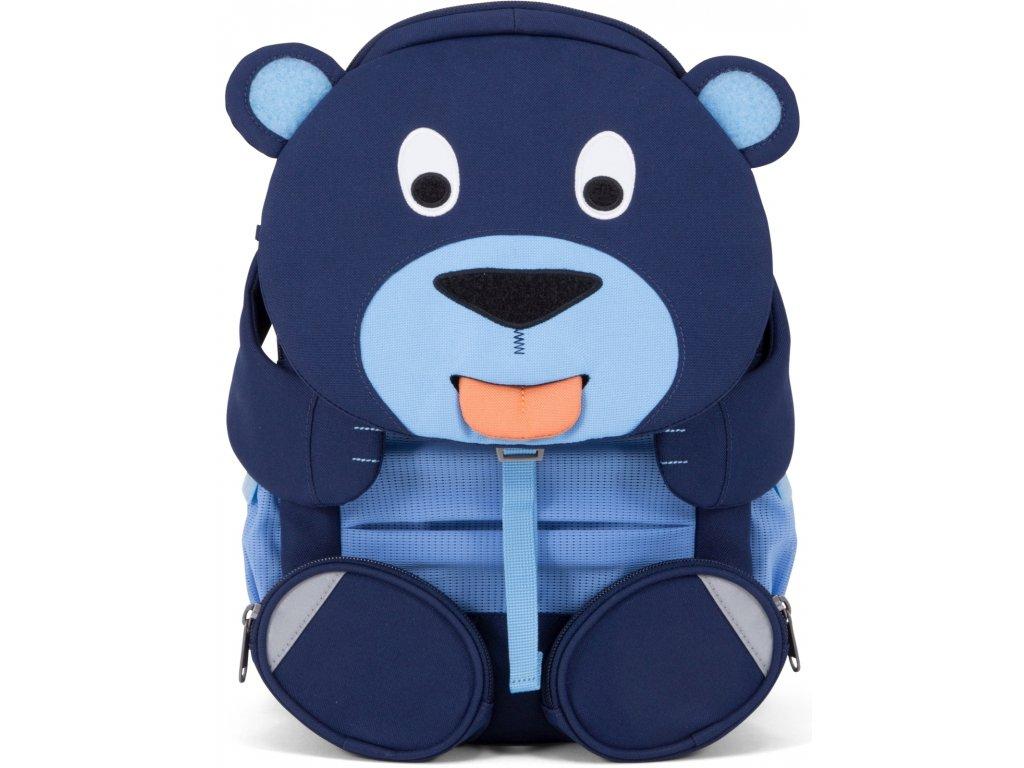 Affenzahn Dětský batoh do školky Bela Bear large petrol (1)