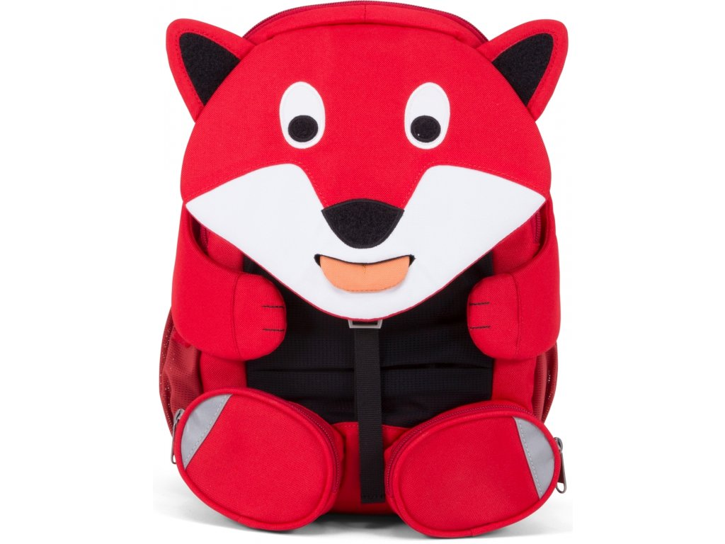 Affenzahn Dětský batoh do školky Fiete Fox large red (1)