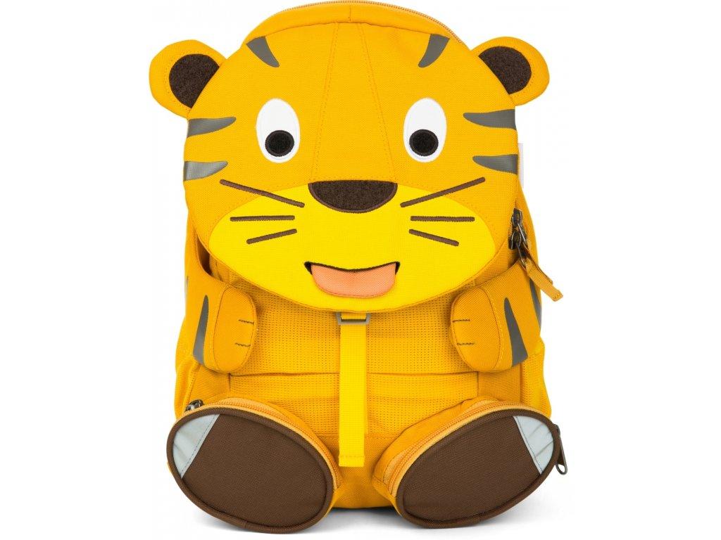 Affenzahn Dětský batoh do školky Theo Tiger large - Yellow