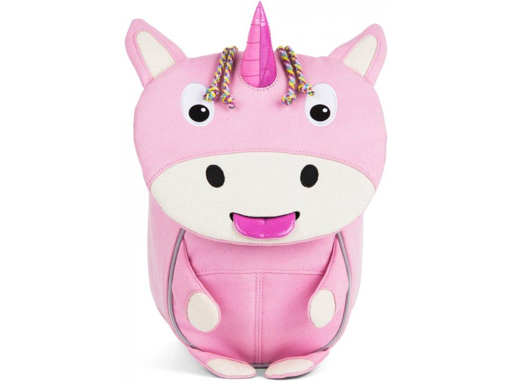 Affenzahn Batůžek pro nejmenší Ulla Unicorn small Special Edition Natural Pink (1)