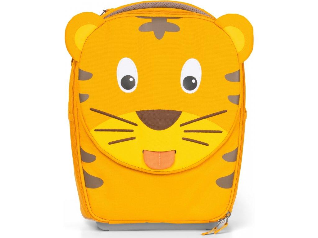 Affenzahn Dětský cestovní kufřík Trolley Timmy Tiger yellow (1)