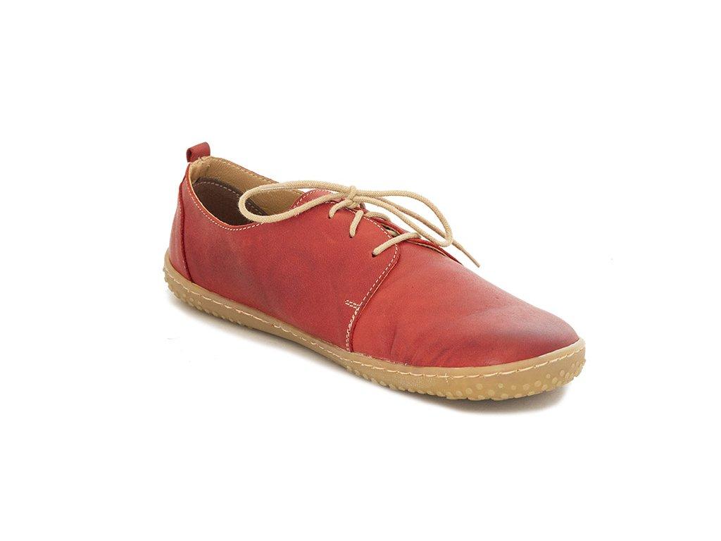 OKBarefoot celoroční barefoot obuv Carmen Red 1746-362