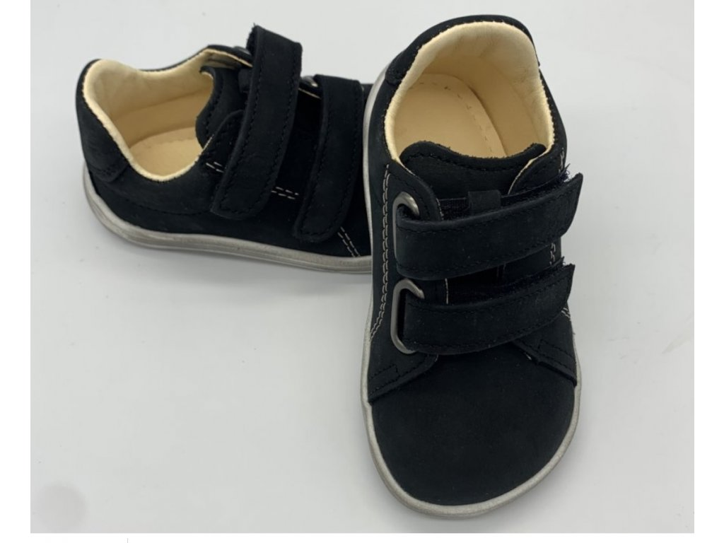 Baby Bare shoes febo spring black white