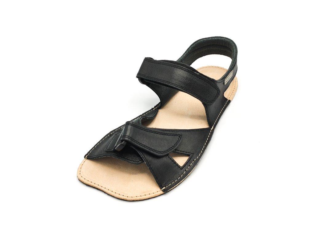 OKBarefoot letní sandály Bounty B32 černé