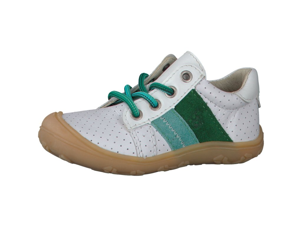 Ricosta barefoot tenisky 12227 831 ROCKY Weiss