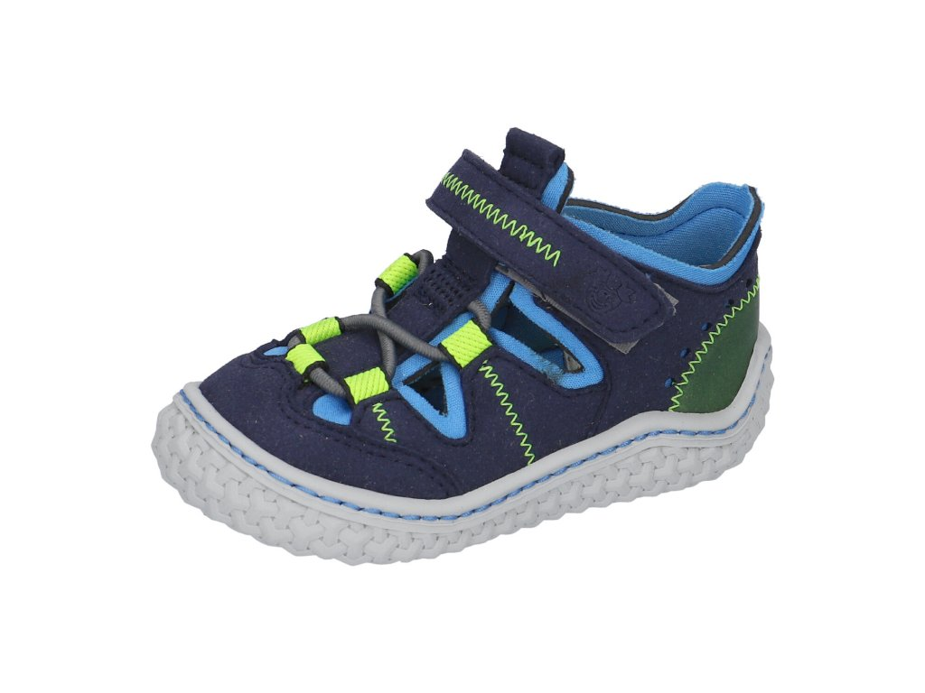 Ricosta barefoot sandály Jerry Ozean 17205 171