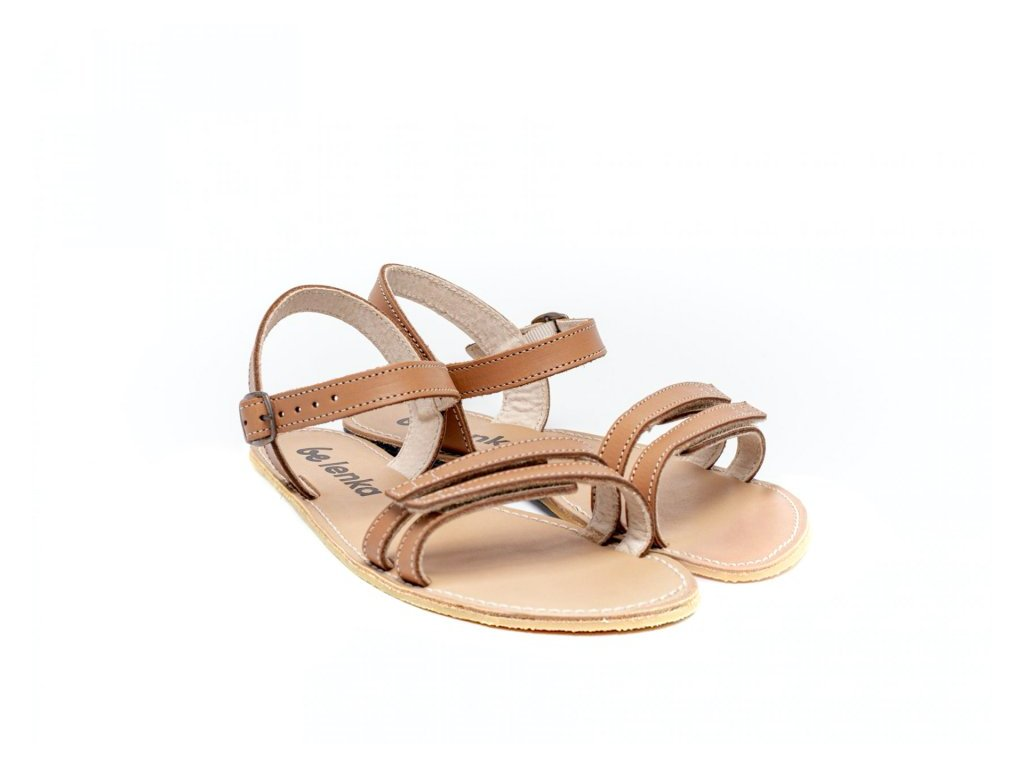 Be Lenka barefoot sandály Summer Brown