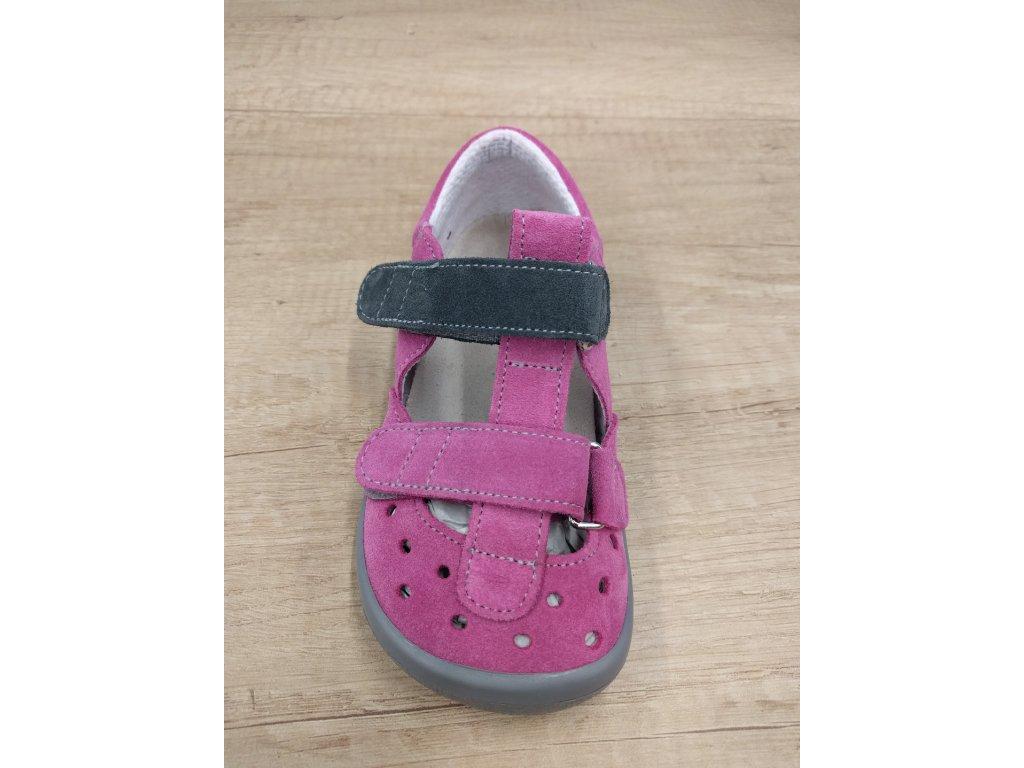 Beda barefoot sandály Rebecca BF/001/SD/W