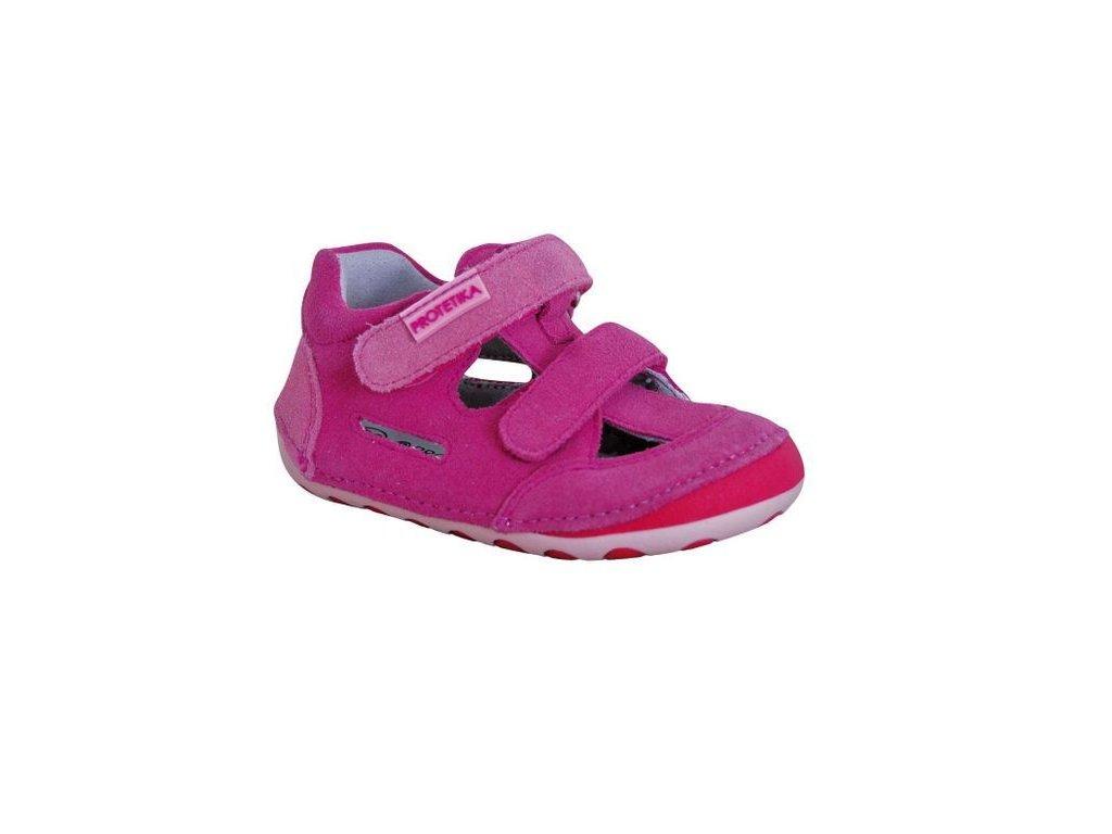 Protetika barefoot obuv Flip Fuxia