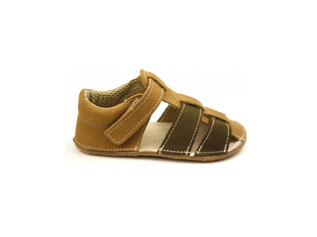 EF Barefoot sandály Olive