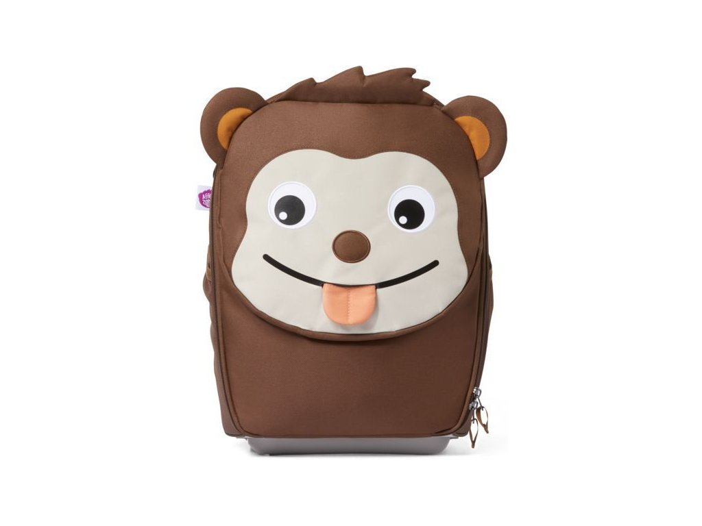 afz trl 001 035 dětský kufr affenzahn monkey