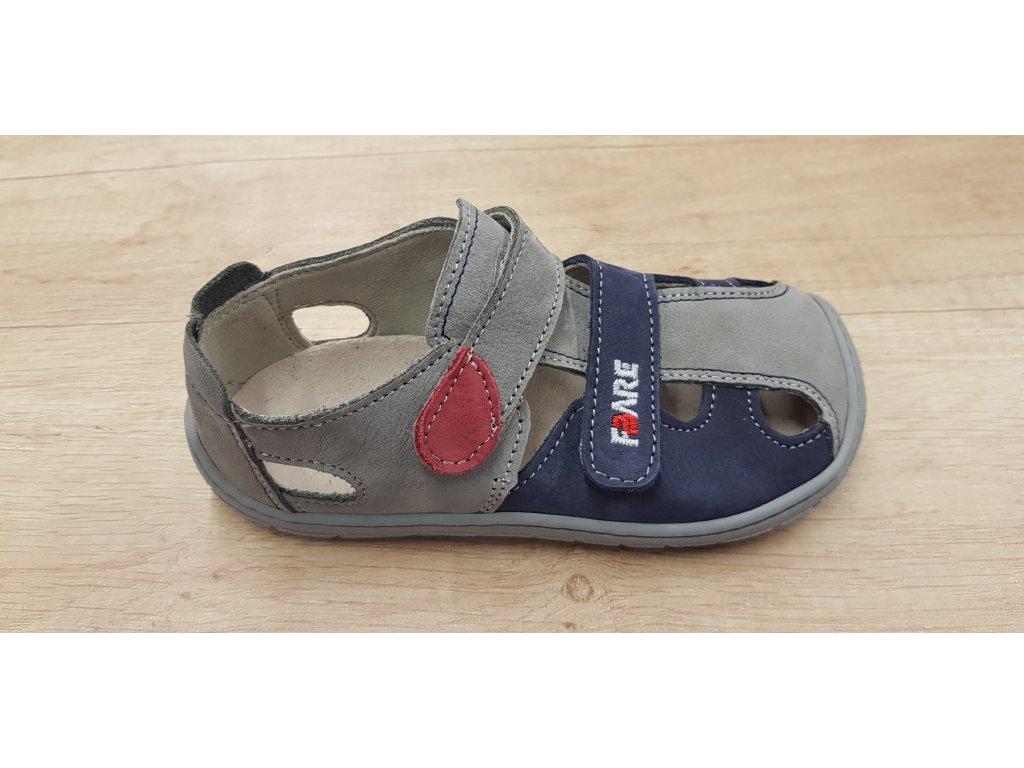 Fare Bare barefoot dětské sandály 5161261