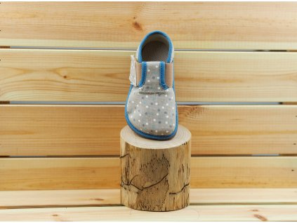 Pegres barefoot přezůvky BF01 modrošedá 02
