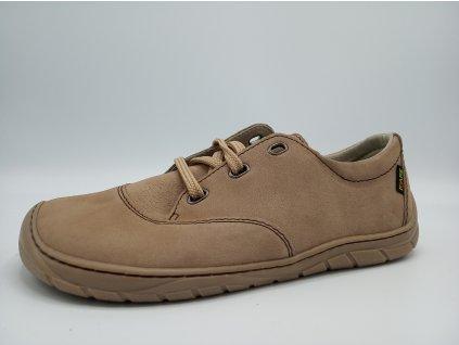 FARE BARE unisex nízké celoroční barefoot boty hnědé 5311271