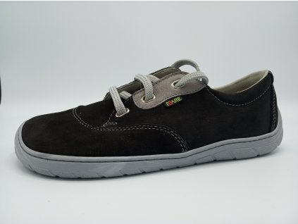 FARE BARE unisex nízké celoroční barefoot boty černé 5311211