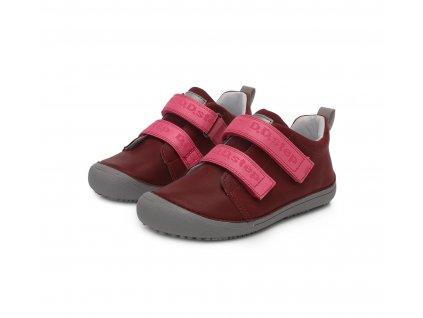 D.D.step celoroční barefoot obuv 063 761CM Dark Pink 01