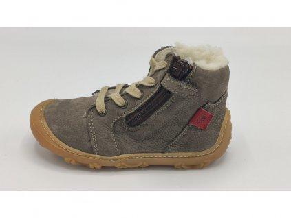 Ricosta barefoot zimní obuv Enno Meteor Weit 15308/462