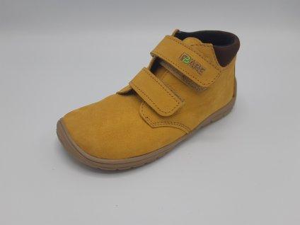 Fare Bare vyšší celoroční barefoot obuv s flísem 5221281