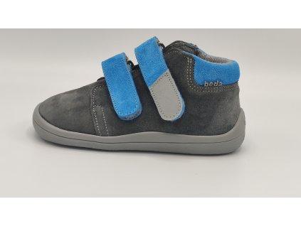 Beda celoroční barefoot obuv Robin vyšší s membránou BF0001/W/M