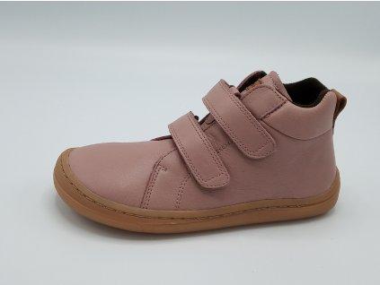 Froddo celoroční kotníčková barefoot BF Pink G3110169-3