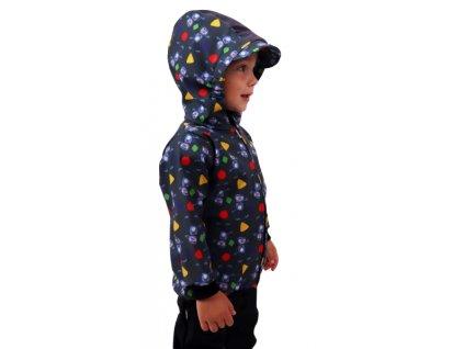 Jožánek dětská softshellová bunda roboti