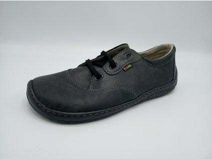 FARE BARE unisex nízké celoroční barefoot boty černé 5311111