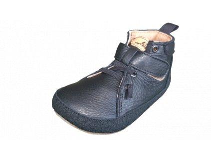 Pegres celoroční barefoot obuv BF32 černá