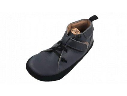 Pegres celoroční barefoot obuv BF32 modrá