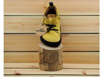 Pegres celoroční barefoot obuv BF32 žlutá 03