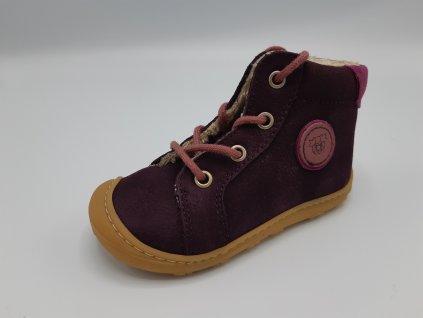 Ricosta barefoot zimní obuv Georgie Plum Mittel 122340/392