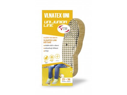 VTR Vložky do bot VLNATEX UNI dětské ostřihávací 25 36