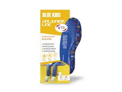 VTR Vložky do bot BLUE KIDS UNI dětské ostřihávací 21 35