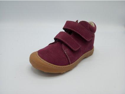 Ricosta barefoot celoroční obuv Chrisy Fuchsia Weit 12340/360
