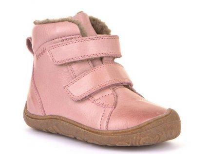 Froddo barefoot zimní obuv Narrow Pink G2110086