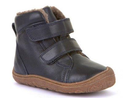 Froddo barefoot zimní obuv Narrow Dark Blue G2110086-10