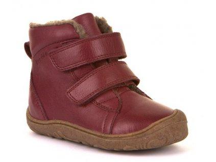 Froddo barefoot zimní obuv Narrow Bordeaux G2110086-2