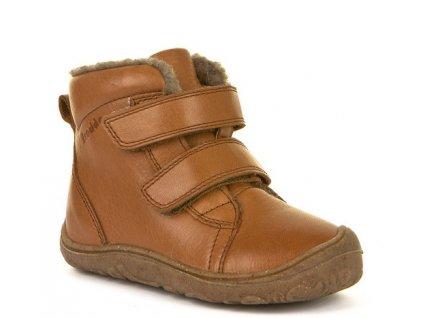 Froddo barefoot zimní obuv Narrow Cognac G2110086-3