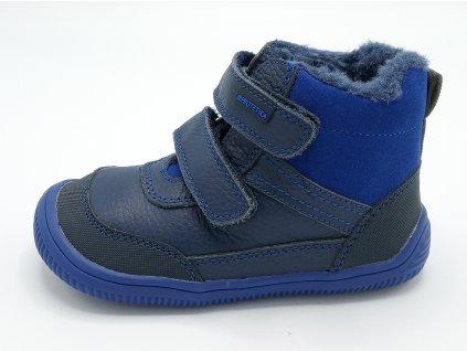 Protetika zimní barefoot obuv Tyrel Blue