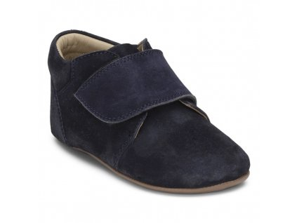 Bundgaard barefoot capáčky Tannu Navy Suede 529tannu