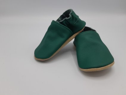 baBice barefoot capáčky Dark Green tmavě zelená BA-137